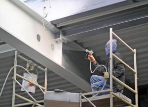 Проведение работ по огнезащите строительных конструкций